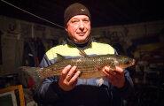 Kalurid päästsid võrgust haruldase kala