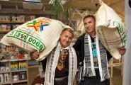 """""""Kohv– see on meie kingitus maailmale,"""" ütlevad Inga Aponte indiaanlased Gentil Muñoz Chindoy ja Fernando Adarme."""