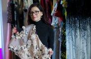 Tiina Talumees ja tema kollektsiooni kleidid