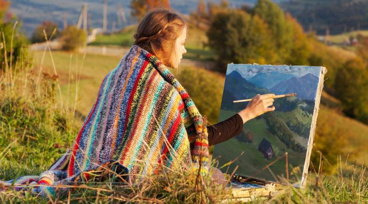 Tervendav maalimine:  loo oma isiklik tervendav maaelemendi maal