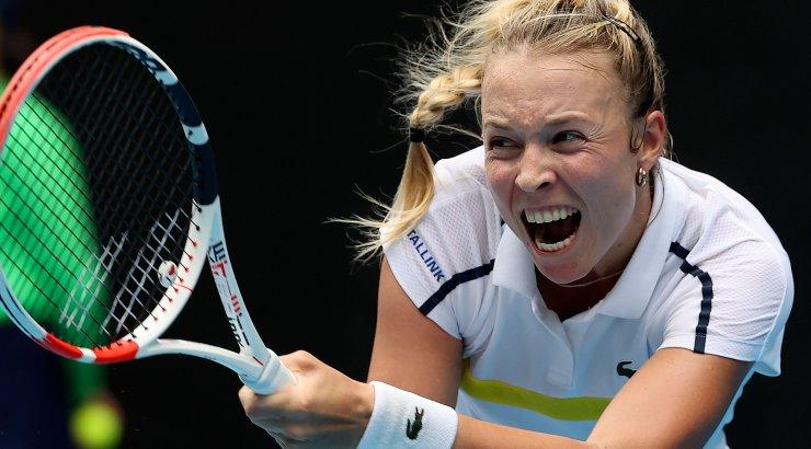OTSEBLOGI | Ainsa eestlannana Austraalias konkurentsi jäänud Anett Kontaveit võtab kolmandas ringis vastu maailma 57. reketi