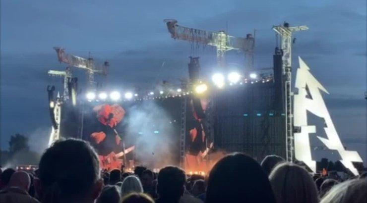 VIDEO | Oli see vast üllatus! Metallica esitas kontserdil ka Eesti laulu, millele tuhanded kaasa laulsid