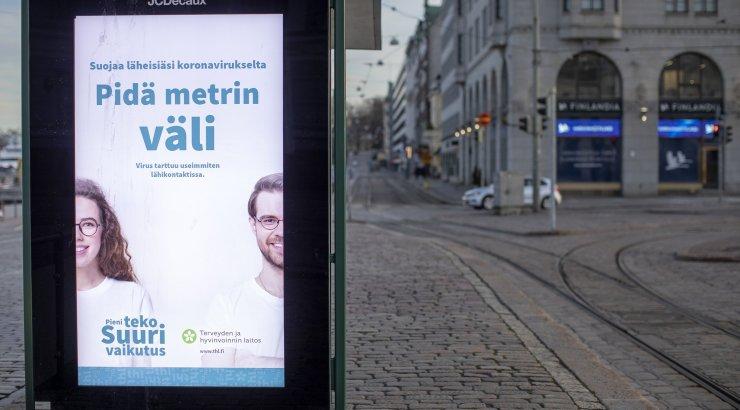 Helsingi ja seda ümbritsev Uusimaa regioon isoleeritakse homme muust Soomest