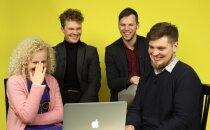 DELFI TV TESTIB | Andke andeks, lapsevanemad! Vaata, kui meeleolukalt reageerib Curly Strings enda laulude kaveritele
