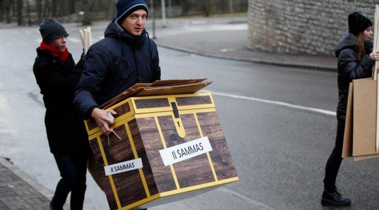 В парламентских выборах в Эстонии приняли участие 63,1% избирателей