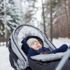 Sinu laps on harjunud õues magama, kuid nüüd on ilmad külmad — need on asjad, millega pead miinuskraadide puhul arvestama