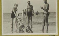 ФОТО: Отдых на пляже Пирита в 1920-х годах