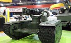 Eesti firma sõdurrobot lööb laineid Singapuri lennundusmessil