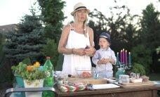 KODUSAADE: Sisekujundaja kokkab koos pojaga - isuäratav lõhecarpaccio Lukase moodi