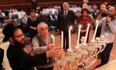 ФОТО: Еврейская община Ида-Вирумаа отмечает Хануку