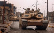 Sõduri ülevaade: Ameeriklaste Abramsi tank sisendab aukartust