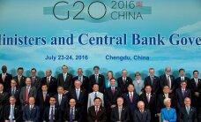 """G20: """"Брексит"""" добавил неуверенности мировой экономике"""