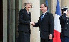 Олланд на встрече с Мэй призвал начать выход Британии из ЕС поскорее