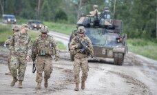 Ameerika Ühendriikide lahingpioneerid lahkuvad Eestist