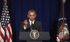 Опрос: деятельность Обамы одобряют максимум американцев с 2013 года
