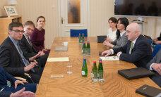 На встрече с замминистра иностранных дел Грузии стороны сосредоточились на интеграции страны в ЕС и НАТО