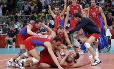 Venemaa võrkpallimeeskond võitis 0:2 kaotusseisust olümpiafinaali!