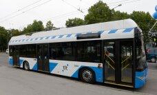 Автомобильная авария на улице Сыле в Таллинне остановила движение троллейбусов