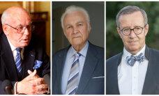 ГРАФИК: Трое президентов Эстонии из четырех были избраны в коллегии выборщиков