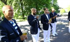 ФОТО и ВИДЕО: Президент Ильвес принял эстонских олимпийцев
