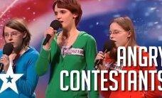 VIDEO: Tule taevas appi! TOP 5 kõige vihasemat ja sõnakamat osalejat Got Talenti talendisaadetes