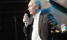VIDEO: Machomees Putin näitas lauldes oma romantilist külge