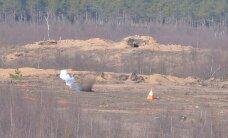ФОТО DELFI: Американские истребители бомбили наземные цели на полигоне Тапа