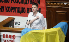 ФОТО: Надежда Савченко впервые выступила в Верховной Раде, призвав парламент не предавать свой народ