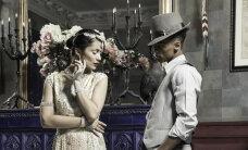 """Efektne ajastupidu: """"Eesti tippmodelli"""" osalejad poseerisid """"Great Gatsby"""" teemalisel fotosessioonil"""