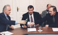 RIIGIKOGU VALIMISED 1995: Rüütli abiga võitsid mäekõrguselt Koonderakond ja Maarahva Ühendus