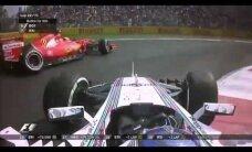 VIDEO: Kahele soomlasele pole F1-s ruumi? Bottase ja Räikköneni kokkupõrge lõppes taas ühe mehe katkestamisega