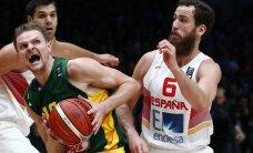 Leedu korvpallikoondis alistas kahel korral Hispaania