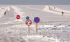 Maanteeamet sulges lõplikult kõik jääteed
