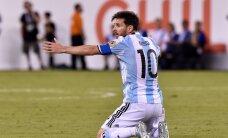 ФОТО и ВИДЕО: Месси не забил пенальти и покинул сборную Аргентины