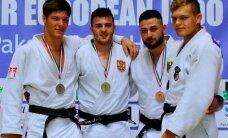 Judoka Mattias Kuusik juunioride Euroopa karikaetapil poodiumil