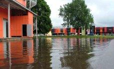 Насколько вероятно, что волость Йыхви может затопить?