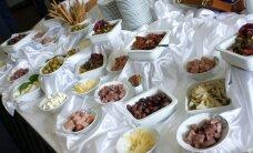 Aastavahetusel paku külalistele erilisi toiduelamusi