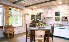 FOTOD: Taaskasutust hindava pere vanavaraga ehitud kodu Läänemaal