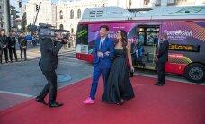 FOTOD: Kas Stigi roosad jalatsid varastasid punasel vaibal show?