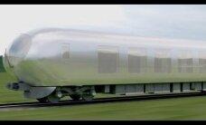 """Jaapanis hakkab ringi vuhisema """"nähtamatu"""" rong"""