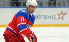 ВИДЕО: Смотрите, как Путин забросил шайбу в гала-матче НХЛ
