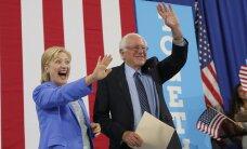 Сандерс официально вышел из президентской гонки США и вслед за Обамой поддержал Клинтон