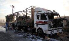 Минобороны РФ увидело грузовик террористов рядом с пострадавшим гумконвоем