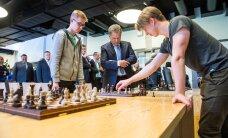 Soome ja Eesti presidendi koolikülastus oli vähemalt sama põnev kui male