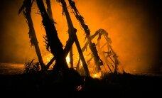 Põlvamaal põles maamaja sisuliselt maani maha