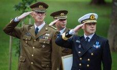 FOTOD: Kaitseväe uus juhataja asetäitja ja peastaabi ülem astusid ametisse