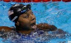 Ujumine sai esimese naissoost mustanahalise olümpiavõitja