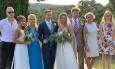 FOTOD | Pilguheit Taimo Toomasti tütre kuninglikku pulma Lõuna-Prantsusmaa lossis!