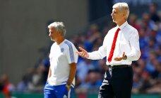 VIDEO: Wenger ei tahtnud pärast Arsenali võitu Mourinhoga kätt suruda