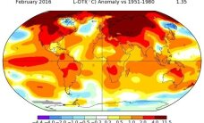NASA veebruari ilmaraport ehmatas meteorolooge üle maailma